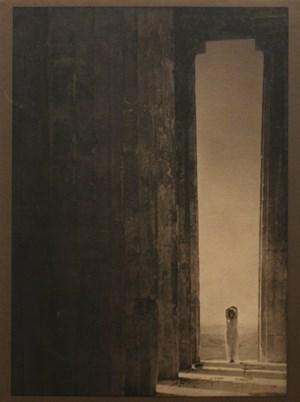 Isadora Duncan - Columns of the Parthenon by Edward Steichen contemporary artwork