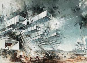 Utopia XXXI by Inna Artemova contemporary artwork painting