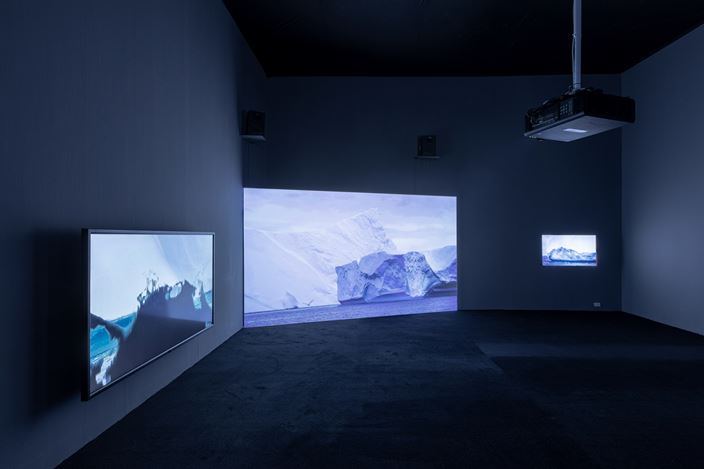 Exhibition view: Ma Qiusha, Tales of White Nights, Beijing Commune (24 September–9 November 2019). Courtesy Beijing Commune.