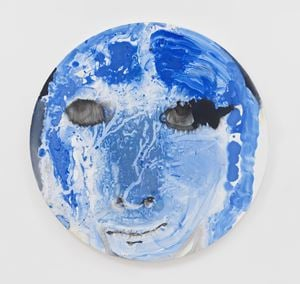 Skyros by Marlene Dumas contemporary artwork