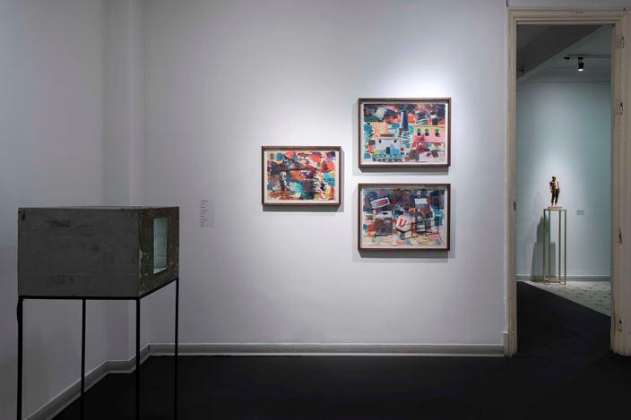 Exhibition view: Unlock, Zilberman Gallery, Istanbul (15 December 2020–27 January 2021). Courtesy Zilberman Gallery.