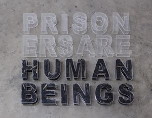 Prisoners are Human Beings by Gayan Prageeth contemporary artwork