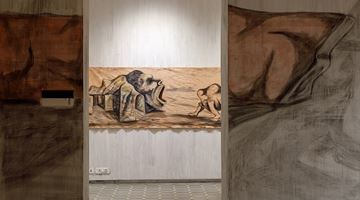 Contemporary art exhibition, Prabhakar Pachpute, Beneath the Palpable at Experimenter, Ballygunge Place, Kolkata