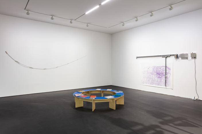 Exhibition view: Group Exhibition, PS81E, Esther Schipper, Berlin (16 June–26 July 2020). Courtesy Esther Schipper.