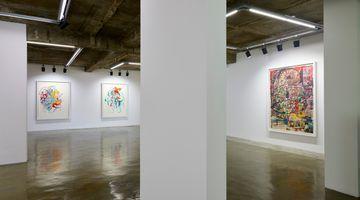 Contemporary art exhibition, Elliott Hundley, Working On Paper, 종이와 대화하면서 at Baik Art, Seoul, South Korea