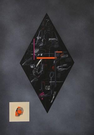 Diamond IV by Shane Cotton contemporary artwork