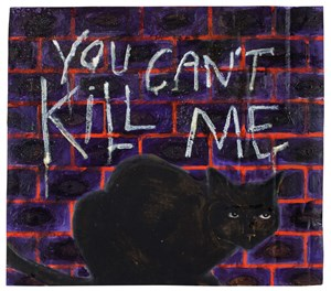 You Can't Kill Me by David Harrison contemporary artwork