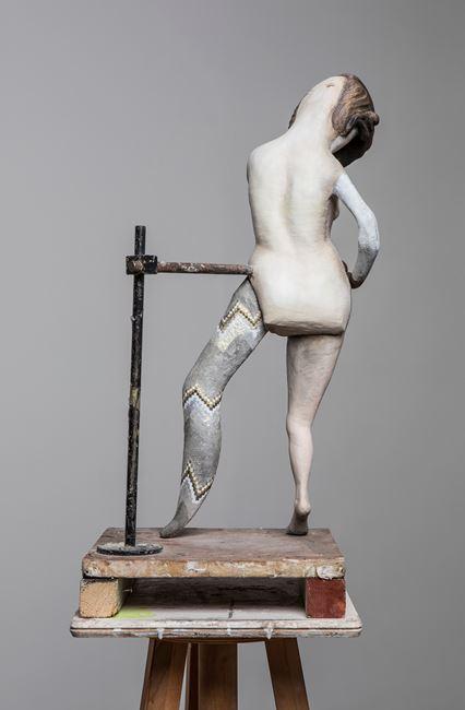 Degas Doll 3 by Cathie Pilkington contemporary artwork