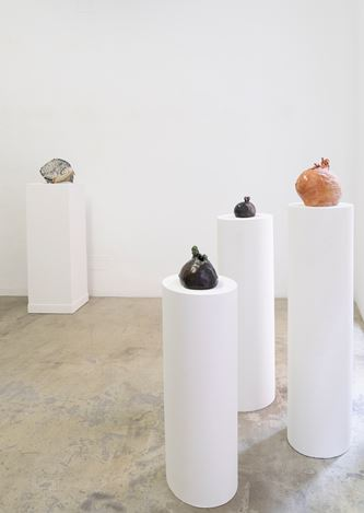 Exhibition view: Leiko Ikemura, Usagi Kannon, KEWENIG, Palma (16 September–14 November 2020). Courtesy KEWENIG.