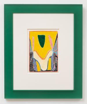 After Scriabin (Green) by Matt Connors contemporary artwork