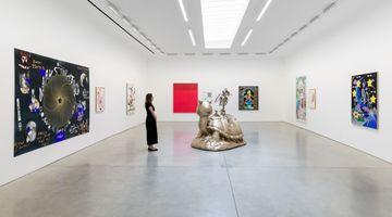Contemporary art exhibition, Matthew Brannon & Online Ceramics (Elijah Funk & Alix Ross), The Galaxy Song at David Kordansky Gallery, Los Angeles