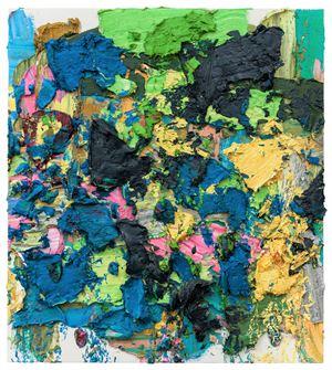 Blue Tango by Zhu Jinshi contemporary artwork