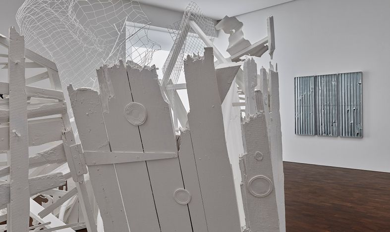 Exhibition view: Rachel Whiteread, Internal Objects, GrosvenorHill, London (12 April–6 June 2021). © Rachel Whiteread. Courtesy Gagosian. Photo: Prudence Cuming Associates.