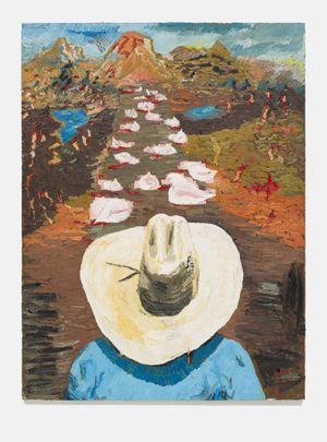Los caminos de la vida by Ken Taylor contemporary artwork