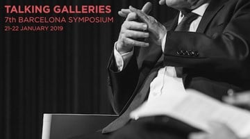 Contemporary art exhibition, Talking Galleries 7th Barcelona Symposium at Ocula Advisory, Barcelona, Spain