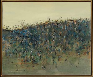 Upwey Landscape by Fred Williams contemporary artwork