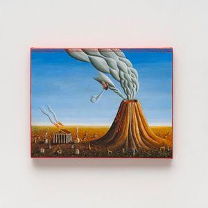 O vulcão by Alex Červený contemporary artwork