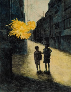 A Spring Day by Haesun Jwa contemporary artwork