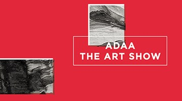 Contemporary art art fair, The ADAA Show at David Zwirner, 19th Street, New York, USA