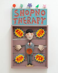 Shopno Therapy by Harry Watson contemporary artwork painting, sculpture
