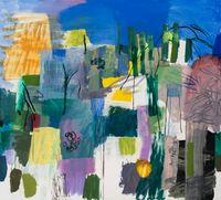 A Window Facing North by Bill Scott contemporary artwork painting, works on paper