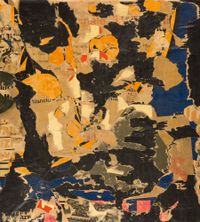 Untitled by Mimmo Rotella contemporary artwork painting, works on paper, photography, print