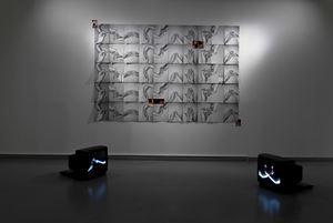 Yazışma Duvarı/Wall of Correspondence by Özgür Atlagan & Zeynep Kayan contemporary artwork