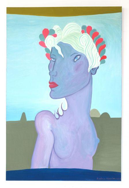 Jolene by Barbara Nessim contemporary artwork