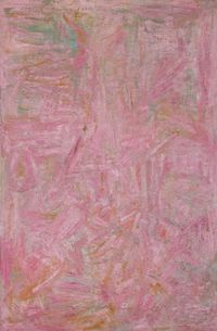 Pink Painting by Ben Isquith contemporary artwork painting