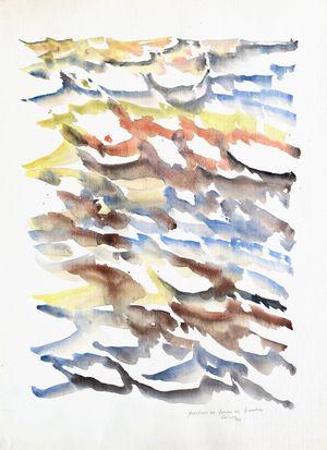 Parfois en forme de bambou by Jacques Calonne contemporary artwork