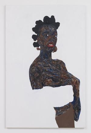 Soleita by Amoako Boafo contemporary artwork