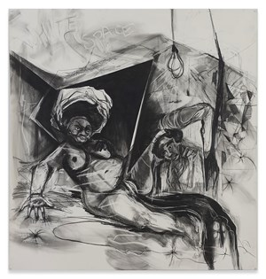 White Space by Kara Walker contemporary artwork