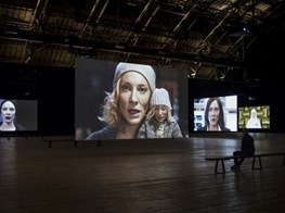 Julian Rosefeldt's 'Manifesto' of manifestos at the Armory with Cate Blanchett