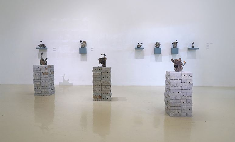 Exhibition view: Jason Lim, Contemplate, Gajah Gallery, Singapore (19 July–4 August 2019). Courtesy Gajah Gallery.