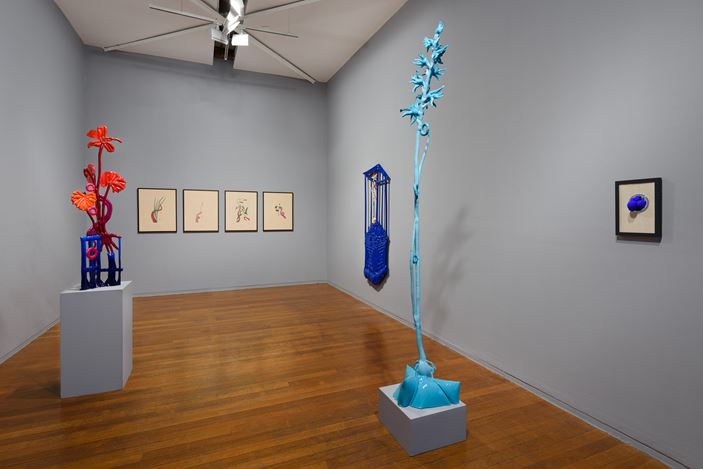 Exhibition view: Caroline Rothwell, Splice, Roslyn Oxley9 Gallery, Sydney (9–31 August 2019). Courtesy Roslyn Oxley9 Gallery. Photo: Luis Power.