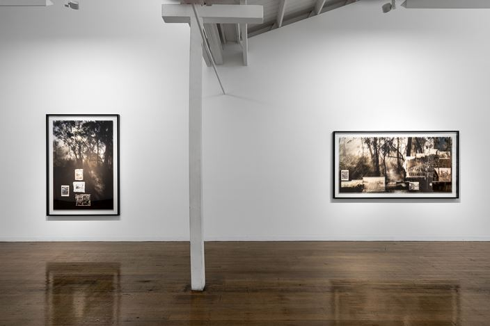 Exhibition view: Lyndell Brown & Charles Green, The Far Country, Arc One Gallery, Melbourne (8 October–9 November 2019). Courtesy Arc One Gallery.