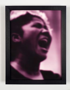 Mahalia by Carrie Mae Weems contemporary artwork