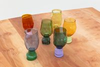 Two-coloured Cups by Jochen Holz contemporary artwork sculpture