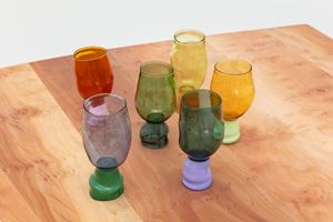 Two-coloured Cups by Jochen Holz contemporary artwork