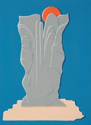 Twilight Relief by Michelle Hanlin contemporary artwork