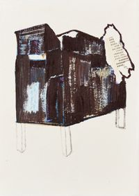 Temporary Construction NO.141215 临时建筑 NO.141215 by Chen Yujun contemporary artwork works on paper
