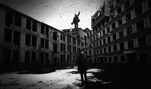 Good Bye Lenin by Hou Shuai contemporary artwork