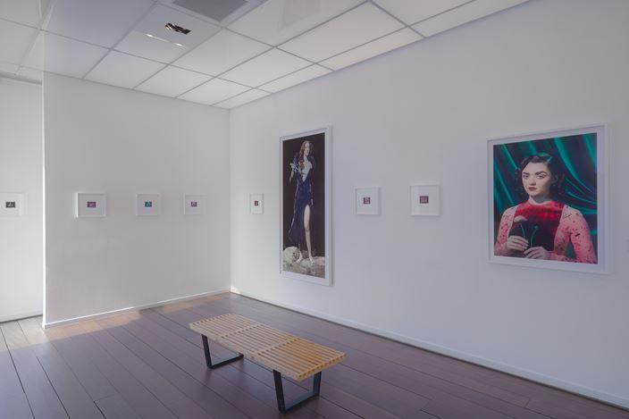 Exhibition view: Miles Aldridge, ART HISTORY, Reflex Amsterdam (7 April–22 May 2018).Courtesy Reflex Amsterdam.