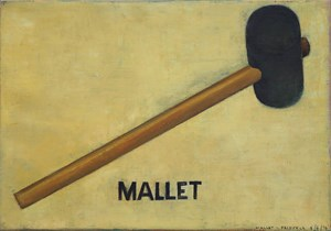 Mallet by Dick Frizzell contemporary artwork