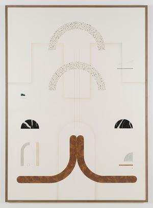 Sin título (Frontón, 3) by Elena Alonso contemporary artwork