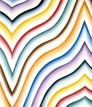 Insulaire Q by Bernard Frize contemporary artwork