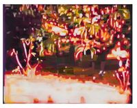 Djungle by Kristina Jansson contemporary artwork painting