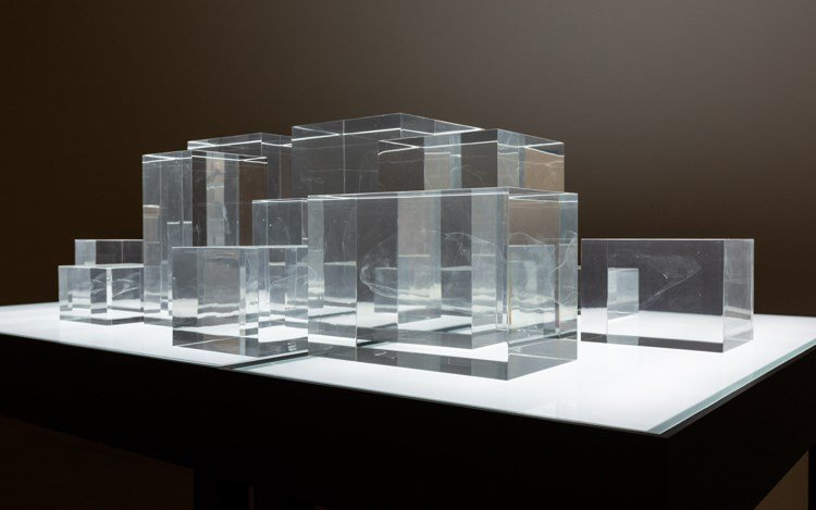 Exhibition view:Zhan Wang, The Invisible, Eslite Gallery, Taipei (12 January–17 February 2019). Courtesy Eslite Gallery.