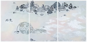 going places, (weeping willows), ready or not by Crystal Liu contemporary artwork