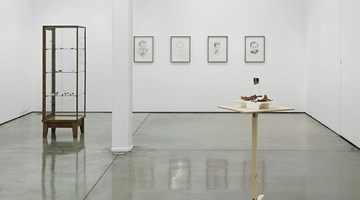 Contemporary art exhibition, Group Exhibition curated by Michael Bracewell, Hounded by External Events at Maureen Paley, London